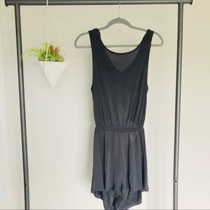 Urban Outfitters Silence + Noise Gray Romper